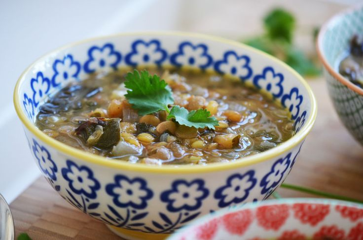recipes lebanese cuisine lentil recipes rose water lentil soup lentils ...
