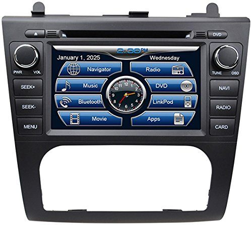 Special Offers - 2007-2012 Nissan Altima In-Dash GPS Navigation DVD CD Player Bluetooth A2DP Audio Streaming 7 Inch Touchscreen FM AM Radio USB SD iPod-Ready iPhone-Ready Stereo Deck 2006 2007 2008 2009 2010 2011 2012 Car Automatic A/C AV Receiver - In stock & Free Shipping. You can save more money! Check It (July 14 2016 at 03:46PM)…