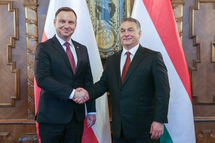 Polak-Wegier_Dwa bratanki! I do szabli i do szklanki! Duda i Orban.