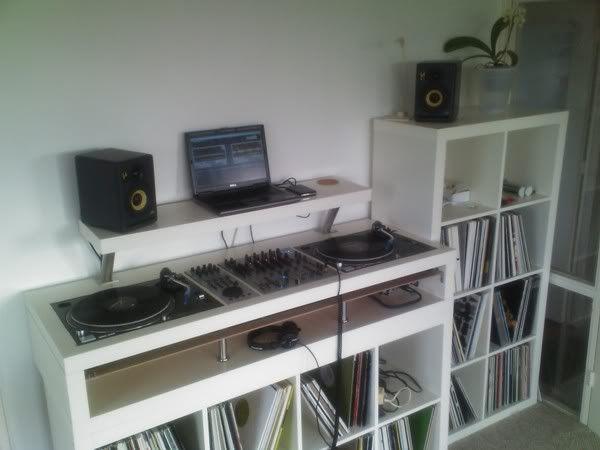 153 best images about home studio stand dj on pinterest dj equipment studio setup and dj party. Black Bedroom Furniture Sets. Home Design Ideas