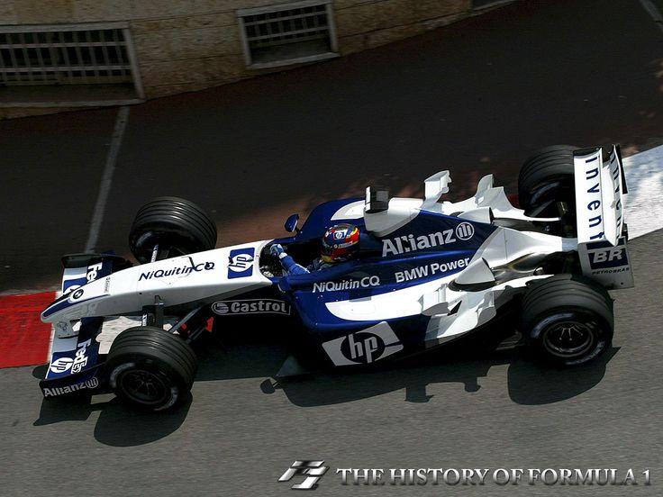 2003 Formula 1 Monaco Grand Prix - Juan Pablo Montoya.