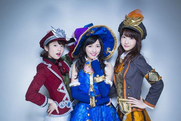 Paruru, Mayuyu and yukirin #AKB48