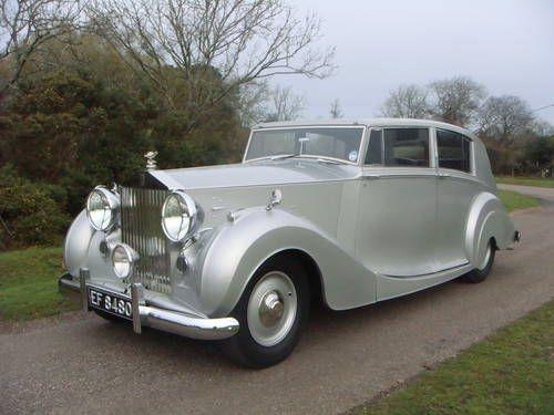 1948 Rolls-Royce Silver Wraith by Freestone and Webb