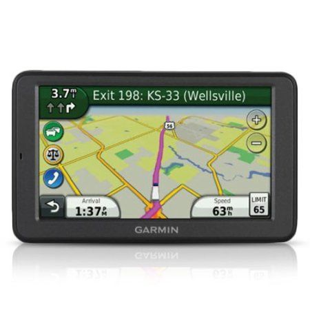 "Explore new places with great ease using the Garmin dezl 560LMT 5.0 GPS Navigator for $529.95 - the advanced navigation system model for the trucking industry. Designed with truckers in mind, the Touch screen GPS Navigator has a large 5"" display, an extra-loud speaker, and external video input for backup cameras. The GPS with traffic updates also includes trucking speed limits, truck-specific route highlighting, and trucking points of interest (POIs)."
