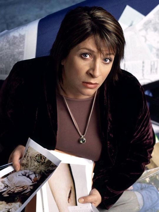 """Blue Murder"" -  Caroline Quentin as DCI Janine Lewis."