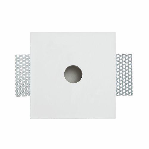 Leroy Merlin - Faretto ad incasso fisso Bologna bianco Illuminazione da incasso per soffitto e parete