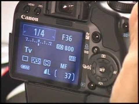 Canon Rebel Video Tips.