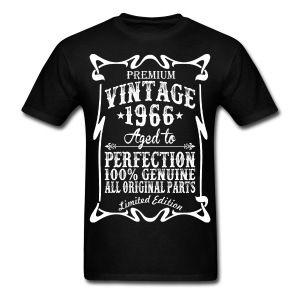 Premium Vintage 1966 Aged To Perfection