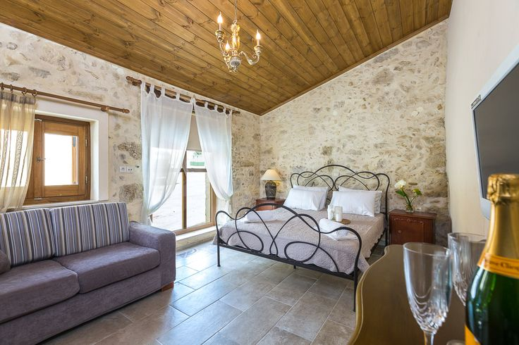 Villa Salis in Gonia, Rethymno, Crete - Greece #brand_NEW_Independent_bedroom_with_ensuite_bathroom