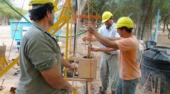 Perforaciones de agua en Chaco.