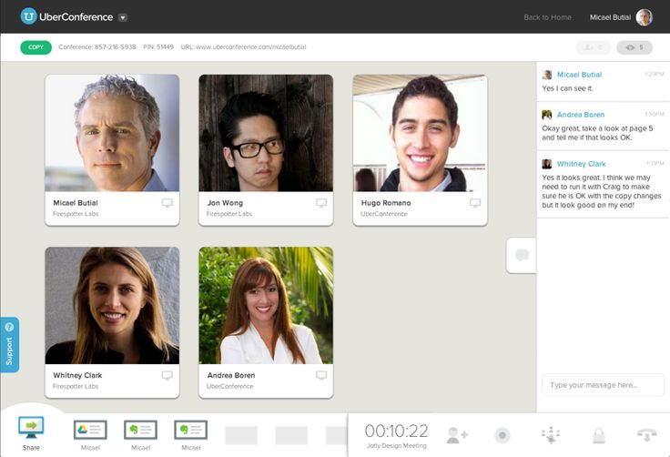 UberConference Pricing, Demos and Comparisons | Video Conferencing