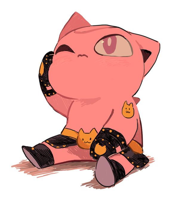 Small Nya - Killer Queen - JJBA - Chibi - DIU - Gud art - cute