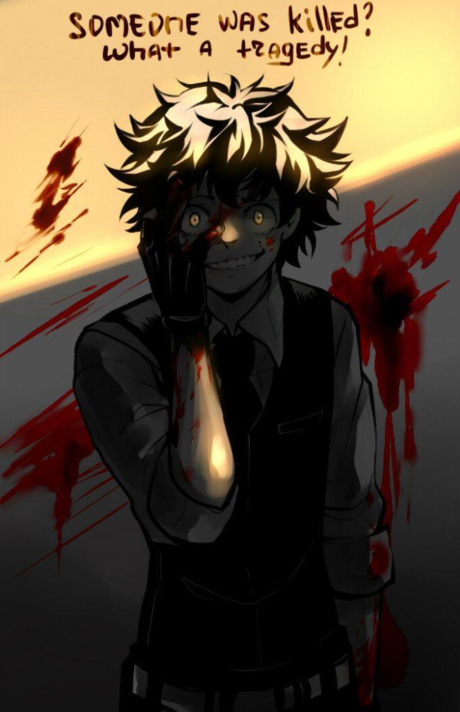 Resultado de imagen para villain midoriya izuku