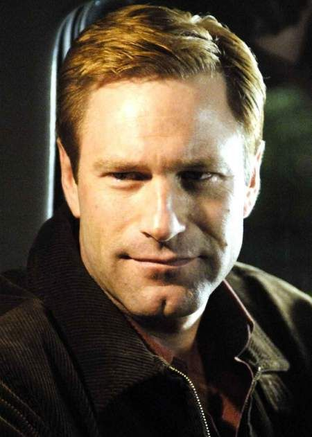 Aaron Eckhart... owner of one of the few buttchins which I do not approve
