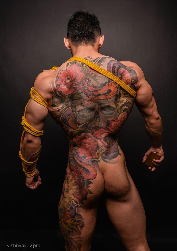Asian tattoo porn