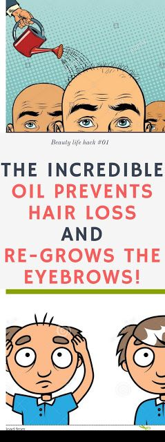 The Incredible Oil Prevents Hair Loss and Re-Grows The Eyebrows!