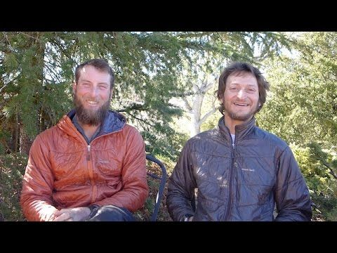 """Video Interview: Pepper and Trauma Winter PCT Thru-Hike - Shawn """"Pepper"""" Forry and Justin """"Trauma"""" Lichter completed the first ever wintertime thru-hike of the Pacific Crest Trail through snow, ice, wind, rain, mud, and freezing cold. They were kind enough to agree to a video interview answering student generated questions by my tHInK outsidE outdoor class. These guys are unique. Don't miss this viewing treat."""
