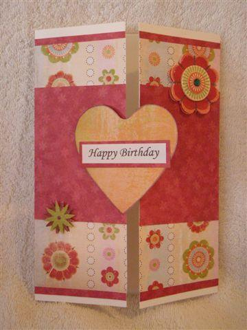 Door Fold Card
