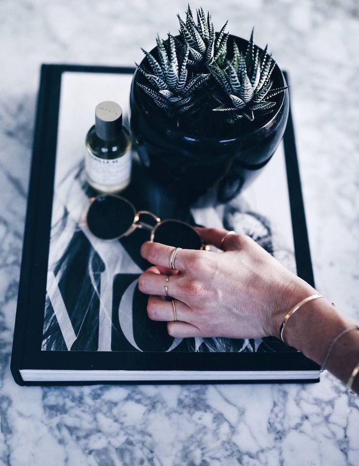 @article marble coffee table styling | The August Diaries