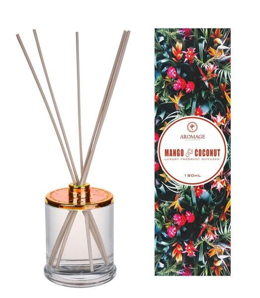 The trendiest way of keeping your home or office premises clean and sweet smelling is by using Mango and Coconut reed diffuser. This sleek and sophisticatedly designed reed diffusers serve as excellent room freshener. 180 ml in size and 9 cm in height, this diffuser enhance the elegance and class of any space and take the decor to the next level. Limited Stocks are available. Get your orders in early to avoid missing out!!  Offer Price: $29.95 $̶3̶4̶.̶9̶5̶