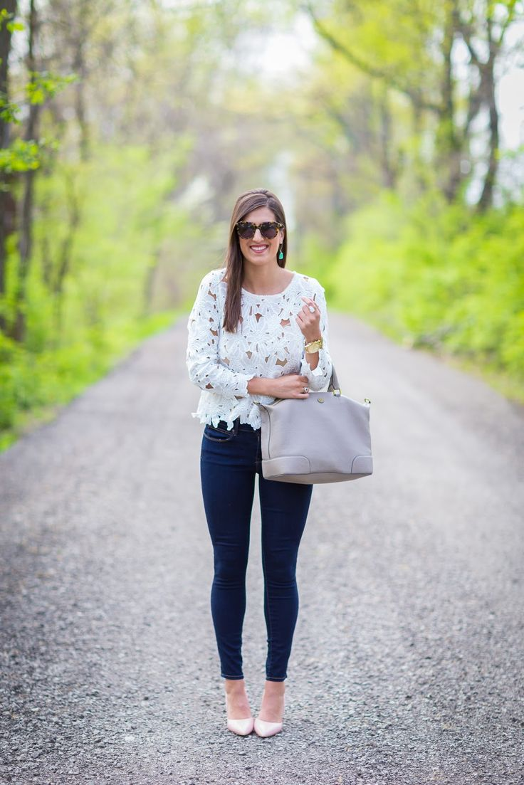 This crochet smock top from Chicwish is the perfect go-to top for a spring outfit.  I decided to keep this outfit simple by pairing this top with the most comfortable blush pumps, some basic skinnies, and mint drop earrings.  Continue reading →