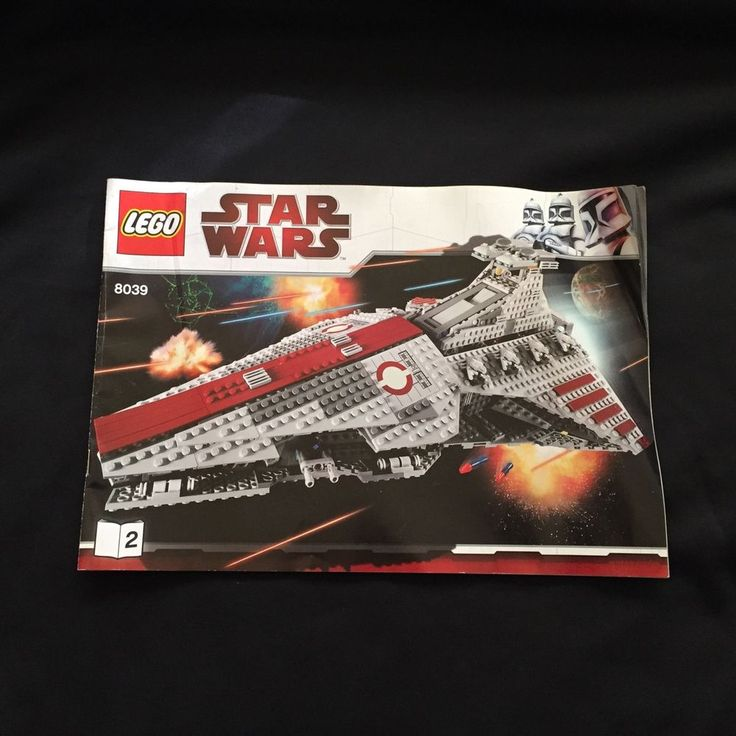 Lego Star Wars 8039 Building Instruction Book 1 And 2 Only #LEGO