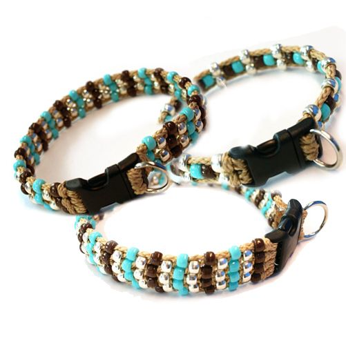 how to make a beaded dog collar - Google Search
