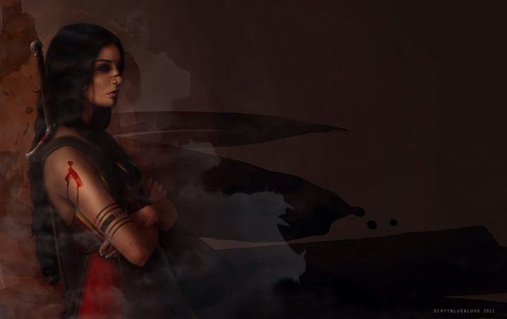 The Barbarian Queen by dirtyblueblood on @DeviantArt