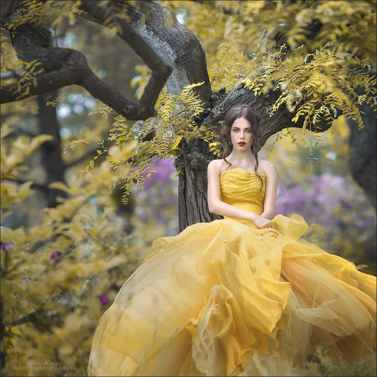 Belle in her iconic yellow gown from #Disney's Beauty and the Beast by Margarita Kareva on 500px