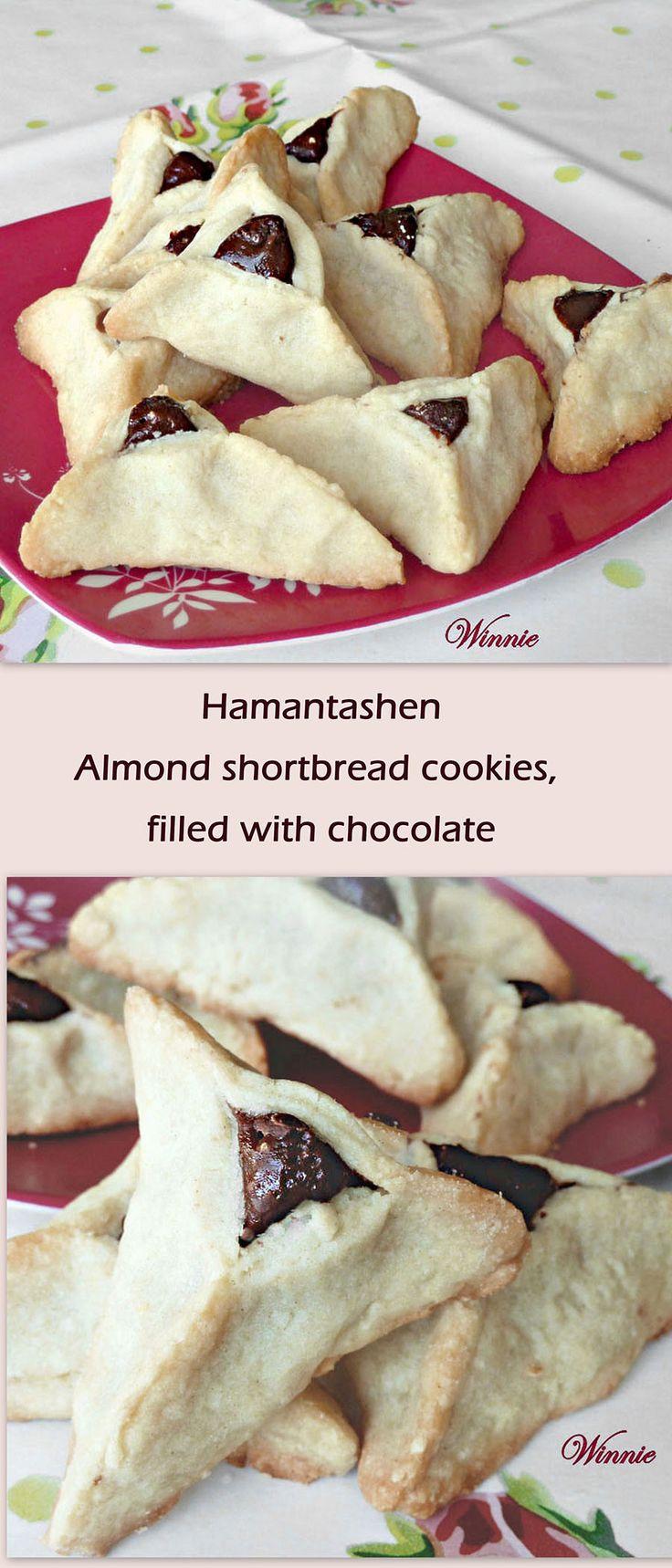 Good food recipes » Chocolate almond shortbread cookie recipe