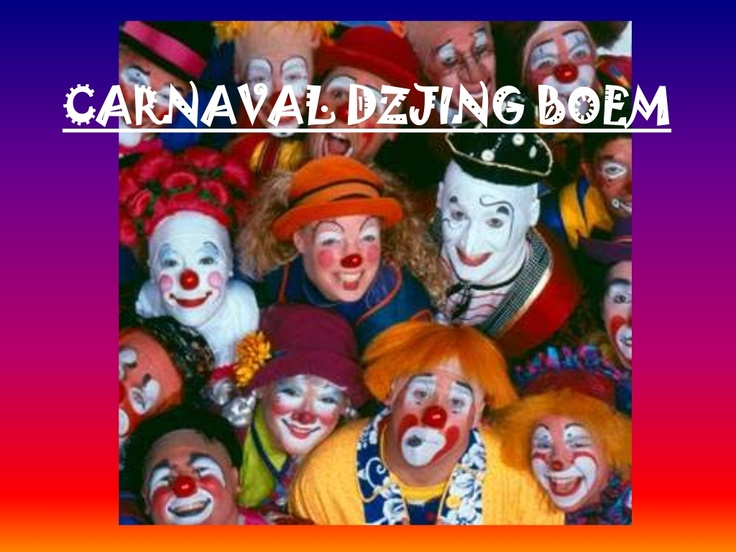 Liedje: carnaval - dzjing boem