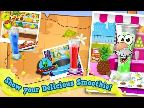 Smoothie Maker Crazy Chef Game Videos games for Kids - Girls - Baby Andr...