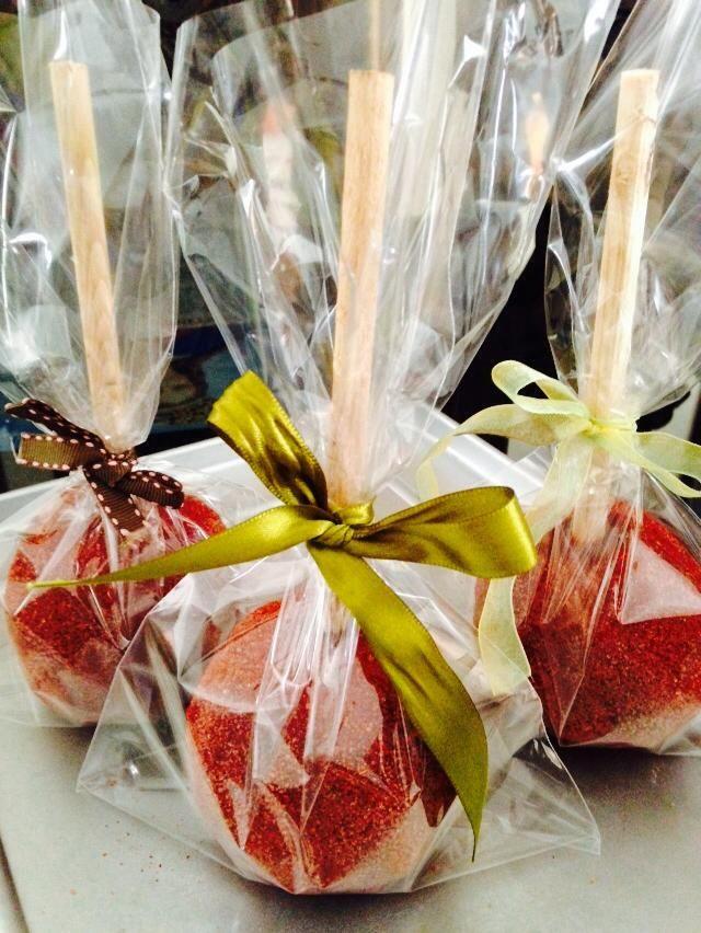 Manzanas cubiertas con pasta de tamarindo   #KonfektFest