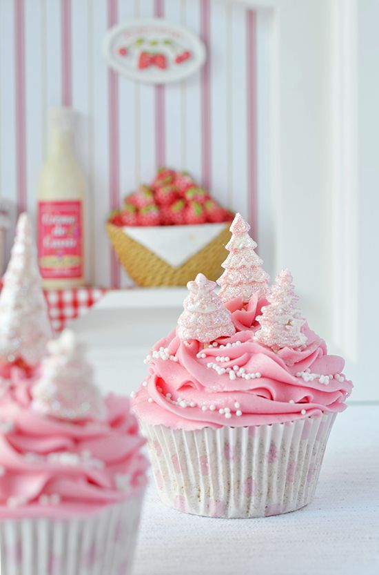 Daily Cupcakes: Cupcakes and orange ginger (Christmas rose) + a mock utter madness