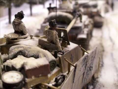 Battle of the Bulge Diorama wrong Turn in the ardennes