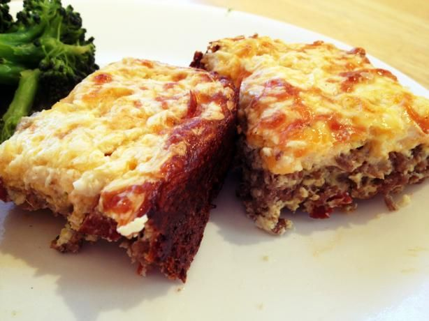 Low Carb Cheeseburger Quiche- I would use ground turkey, turkey bacon, and low fat mayo to make it a little healthier
