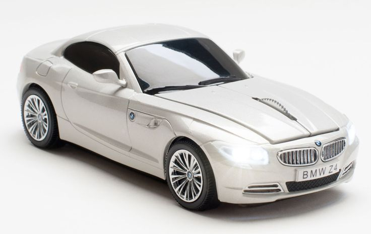 BMW Z4 Mineral White Wireless Mouse