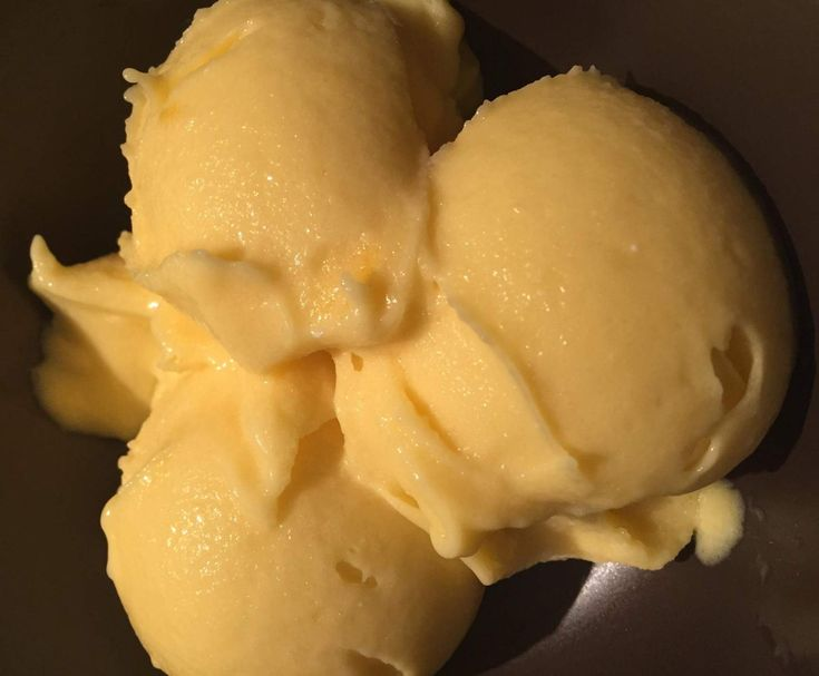 Recipe Mango, coconut and lime sorbet by Denimw - Recipe of category Desserts