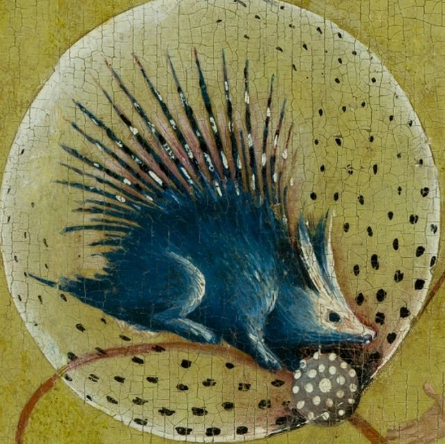 collection of creatures from paintings by Hieronymus Bosch.
