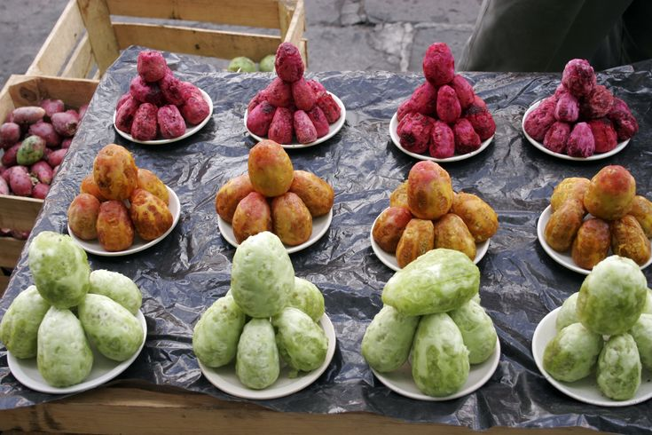 Prickly Pears - Used to love eating these during a hot summer in South Africa. Yum!