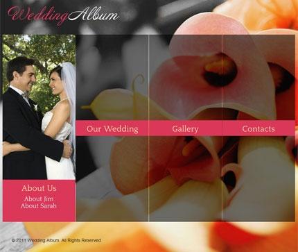 best templete wedding site