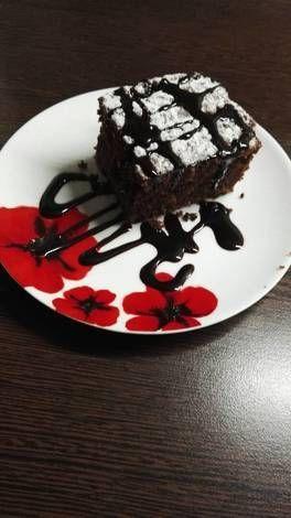 Csupa csoki bögrés süti
