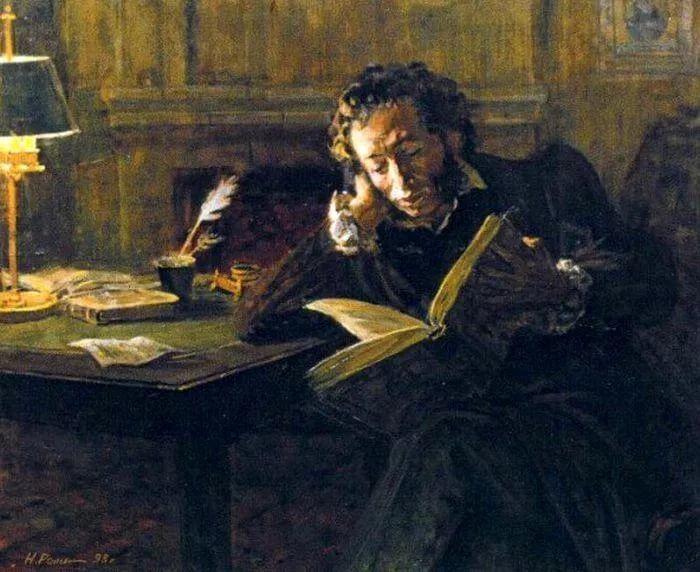 пушкин фото с пером это цветок приобрел