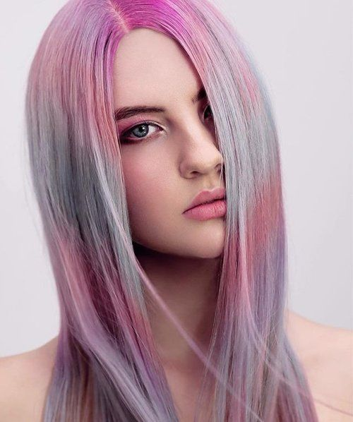 Drawing inspiration from a candy bracelet this beautiful creation of playful pastel tones by @chinneyyeap captured the judges. This is one of our Highly Commended looks for our Lust Semi Permanent Colour Competition for 2017.  To see the formulas she has used visit our Facebook page. #lusthairnz  #photography  #pastelhair