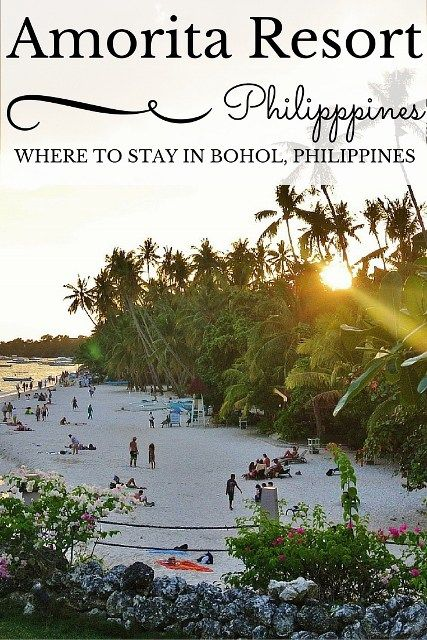 The resort with the most wonderful view of #PanglaoBeach in #Bohol - Amorita Resort, Bohol, #Philippines