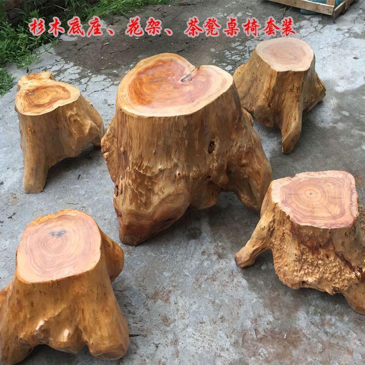 17 mejores ideas sobre mesa de tronco en pinterest hogar - Mesa de tronco ...