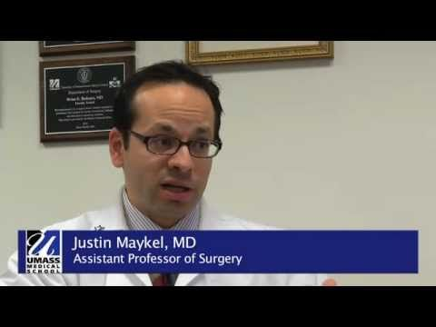 Colorectal cancer: The key is prevention - WATCH THE VIDEO.    *** best practices to prevent cancer ***   Justin A. Maykel, MD, assistant professor of surgery and chief of colon and rectal surgery at UMass Memorial Medical Center, is a passionate advocate for patients with colorectal cancer and strives to incorporate the latest technology and best...