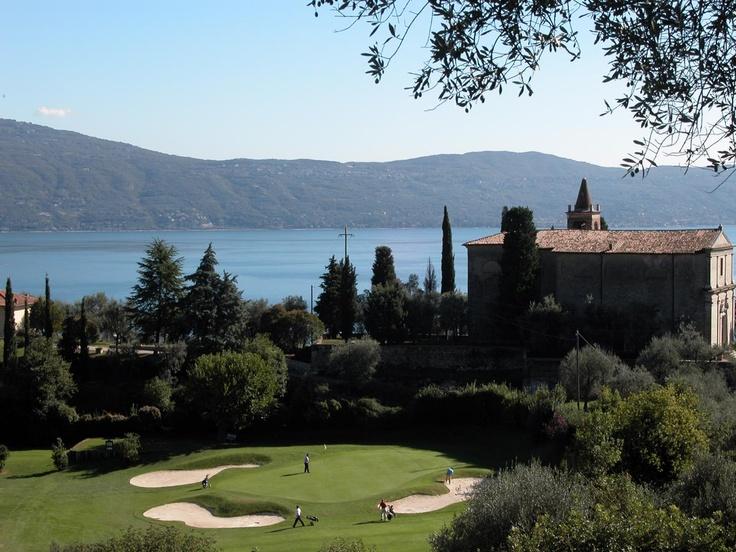Golf Bogliaco, Lago di Garda, Italy