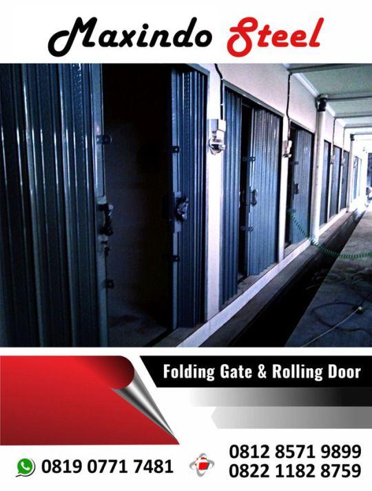 folding gate rolling door pulo gadung jakarta timur