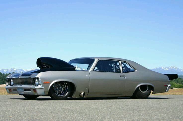 Ron Pease Outlaw 1970 Chevy Nova  738ci Musi Racing With Speedtech Nitrous